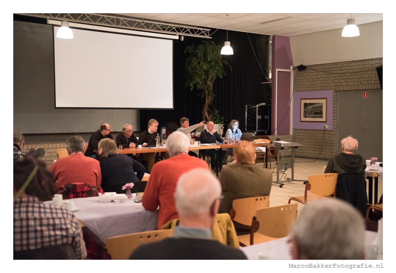 Algemene ledenvergadering 2018. Foto: Marco Bakker