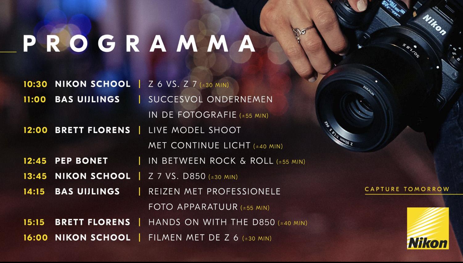 Programma Nikon-stand op Professional Imaging