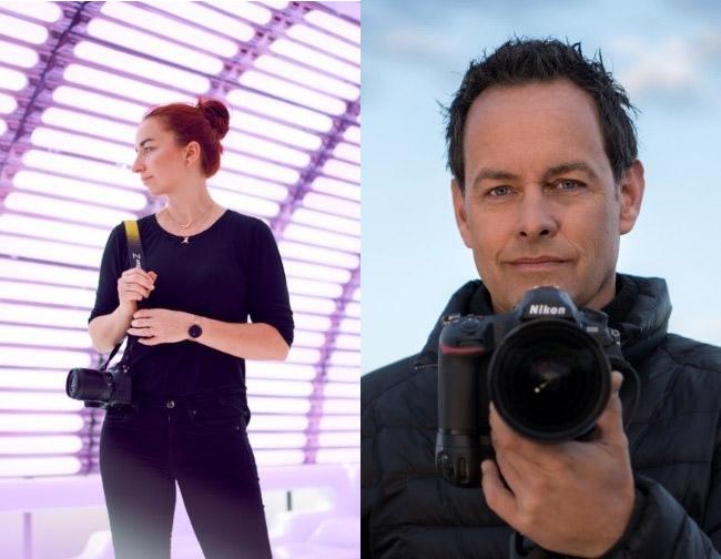 Marie Bärsch en Marsel van Oosten Nikon-Ambassadeurs