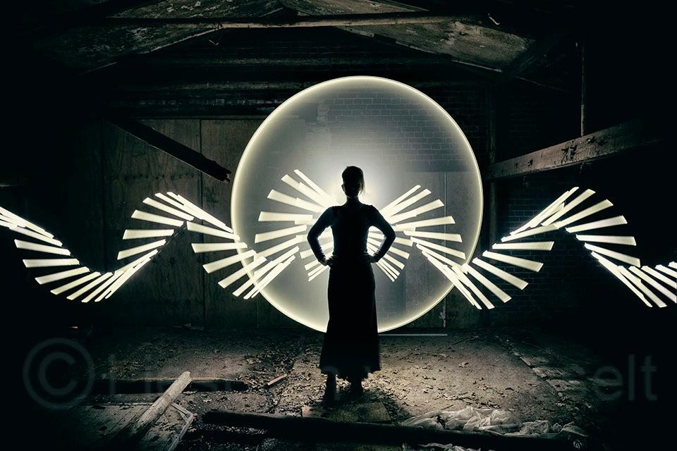 Foto: Liesbeth van Asselt; Lightpainting